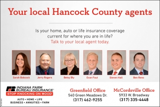 Your Local Hancock County Agents