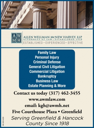 Family Law - Personal Injury - Criminal Defense