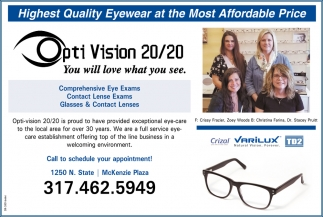 Highest Quality Eyewear At The Most Affordable Price