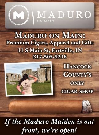 Premium Cigars, Accessories & Apparel