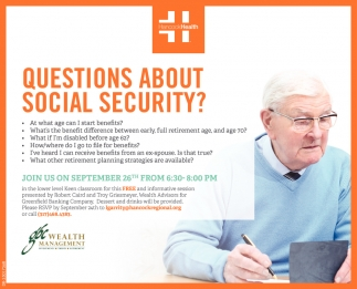 Questions About Social Security?