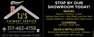 Stop By Our Showroom Today!