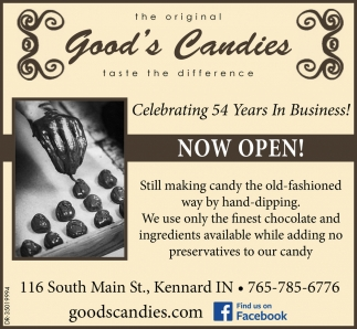 Celebrating 54 Years In Business!