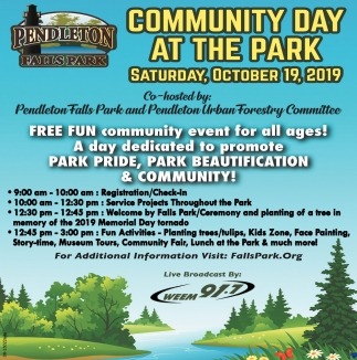 Community Day At The Park
