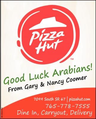 Good Luck Arabians!
