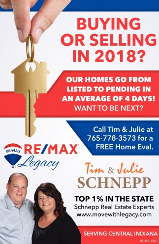 Buying Or Selling In 2018?