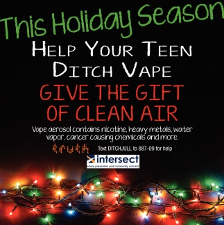 This Holiday Season Help Your Teen Ditch Vape Give The Gift Of Clean Air
