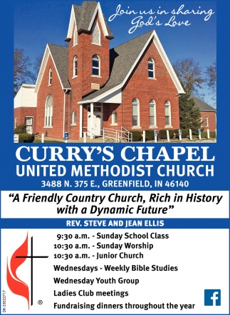 A Friendly Country Church, Rich In History With A Dynamic Future