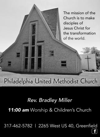 Rev. Bradley Miller.