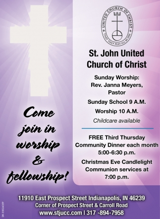Come Join In Worship & Fellowship