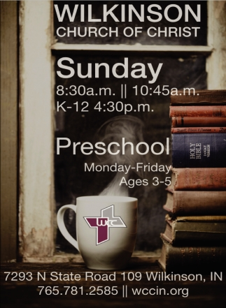Sunday 8:30 AM - 10:45 AM