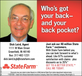 Who's Got Your Back - And Your Back Pocket?