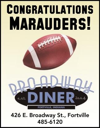 Congratulations Marauders!