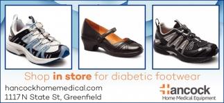 Shop In Store For Diabetic Footwear