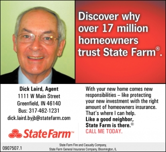 Discover Why Over 17 Million Homeowners Trust State Farm.