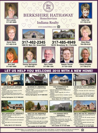 Let Us Help You Welcome 2018 With A New Home!