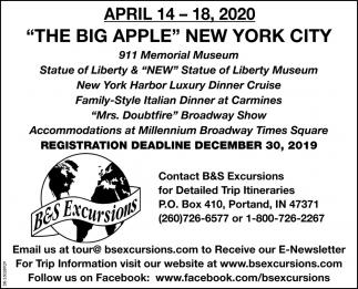 The Big Appel New York City