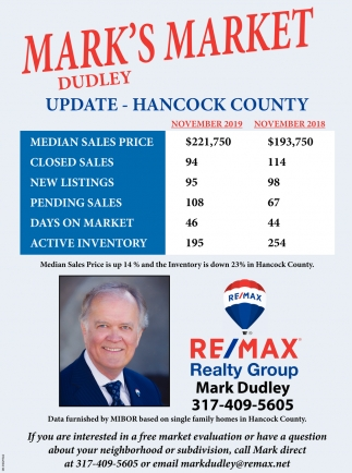 Mark's Market Dudley Update - Hancock County