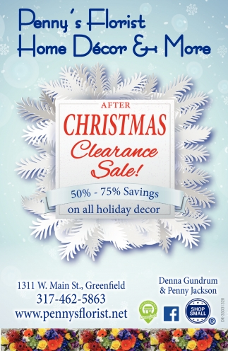 After Christmas Clearance Sale!