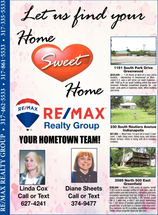 Let Us Find Your Home Sweet Home