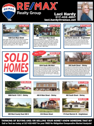 Sold Homes