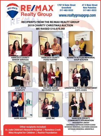Recipients From The Re/max Realty Group