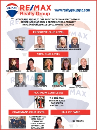 Congratulations To Our Agents At Re/Max Realty Group.