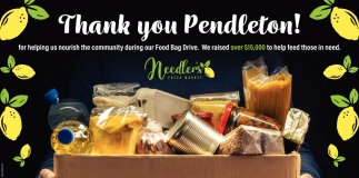 Thank You Pendleton!