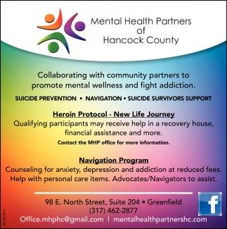 Suicide Prevention - Navigation - Suicide Survivors Support