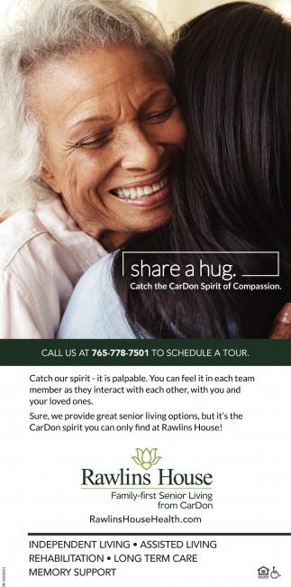 Share A Hug.