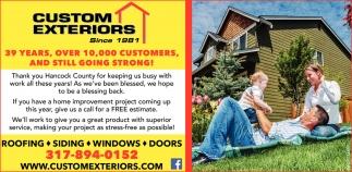 Roofing - Siding - Windows - Doors