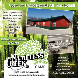 Open For Public Rentals All Year Round!