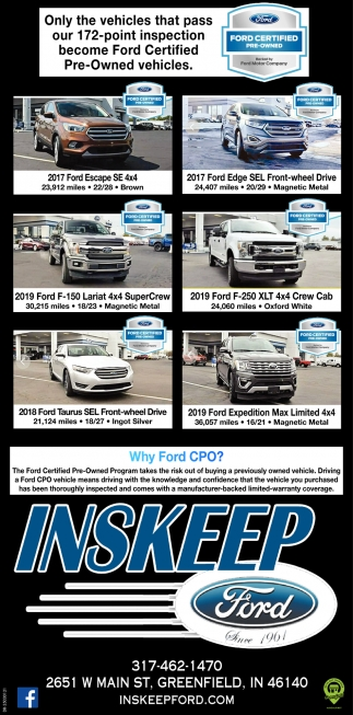 Why Ford CPO?