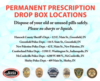 Permanente Prescription Drop Box Locations