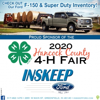 2020 Hancock County 4-H Fair