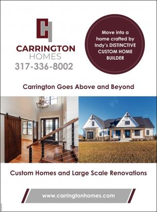 Carrington Goes Adove And Beyond