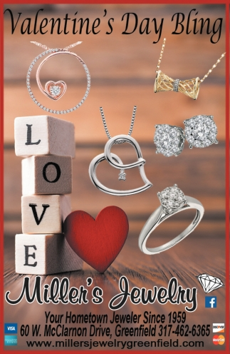 Valentine S Day Bling Miller S Jewelry Greenfield In