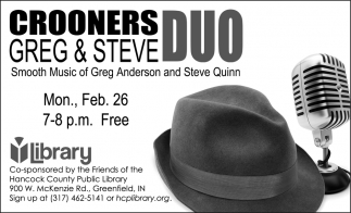 Crooners Greg And Steve Duo