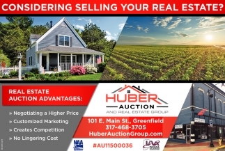 Considering Selling Your Real Estate?