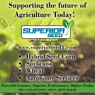 Supporting The Future Of Agriculture