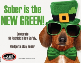 Sober Is The New Green!