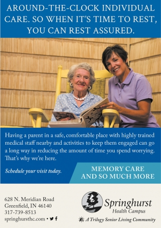 Memory Care And So Much More