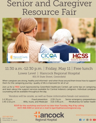 Senior And Caregiver Resource Fair
