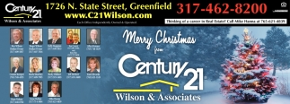 Merry Christmas From Century 21 Wilson And Associates