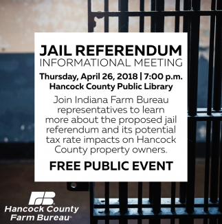 Jail Referendum, Informational Meeting