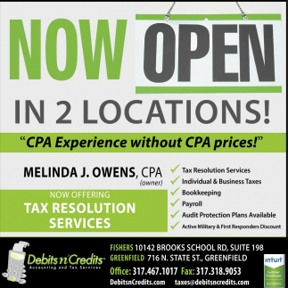 Now Open In 2 Locations!