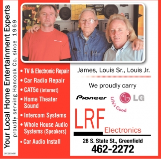 You Local Home Entertainment Experts