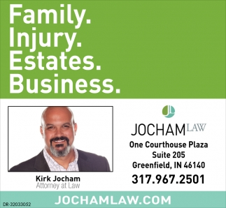 Family. Injury. Estates. Business.