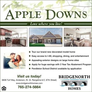 Apple Downs , Bridgenorth Homes , Anderson, IN