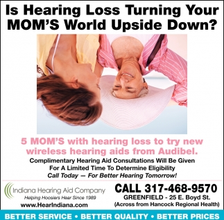 Is Hearing Loss Turning Your Mom's World Upside Down?